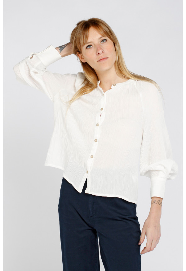 Camisa Colette Blanc Cassé
