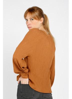 Chemise Colette Camel