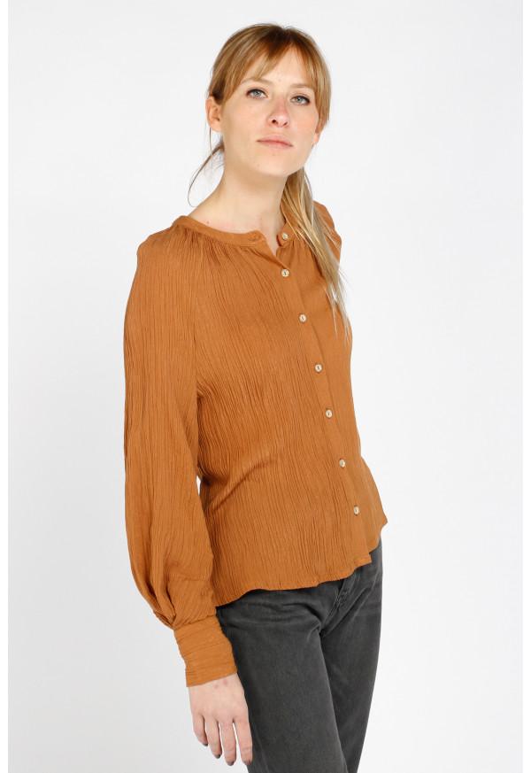 Camisa Colette Camel