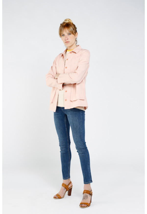 Veste Faycolor Rose Smoke