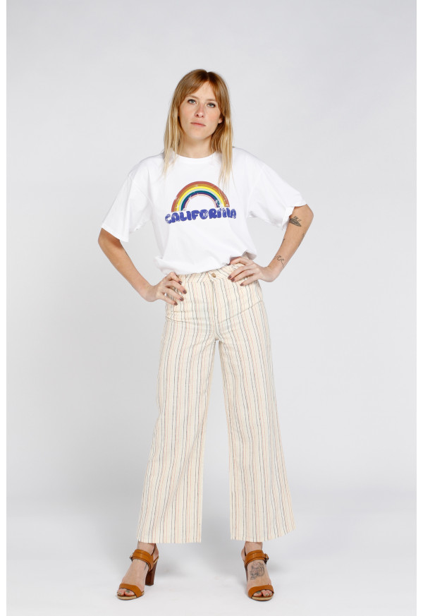Pantalon Ellie Fancy Crafted Striped