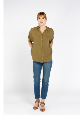 Blouse S21W318 Army