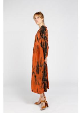Dress Goa Long Brique
