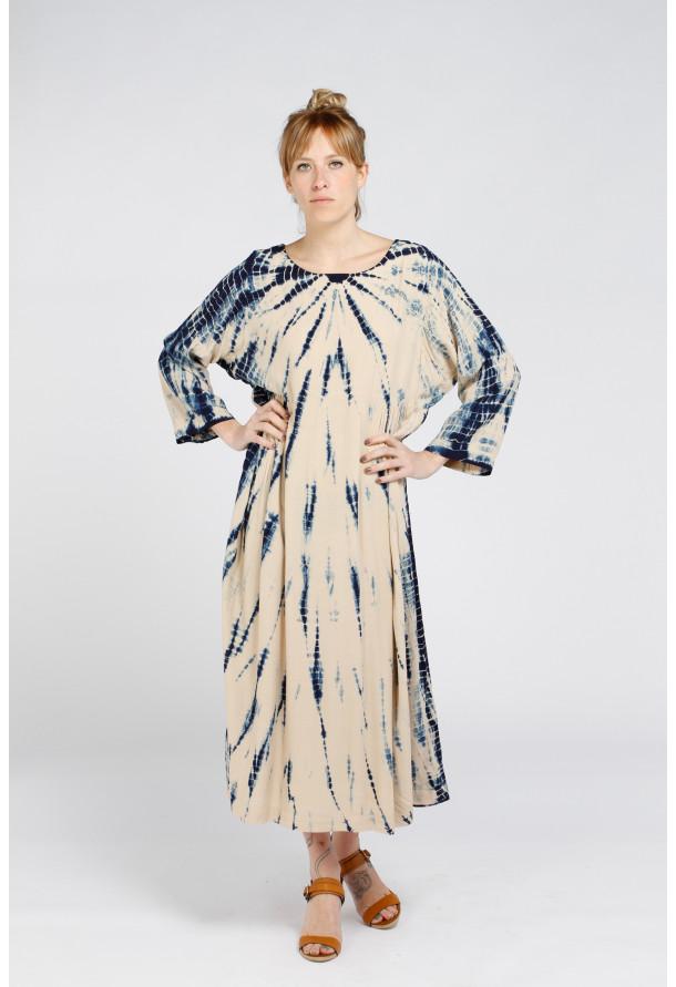Dress Goa Long Blue