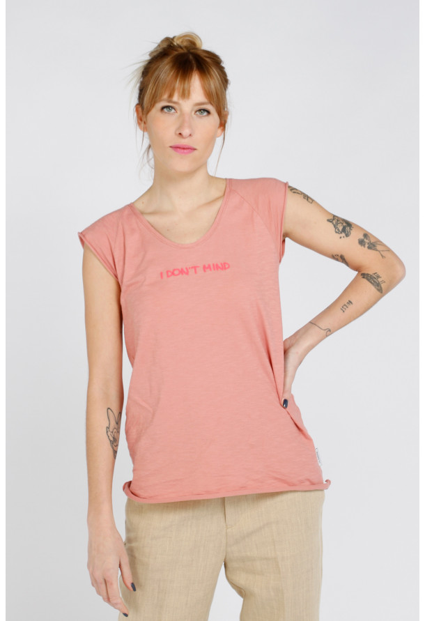 T-shirt S21F877 Terracotta