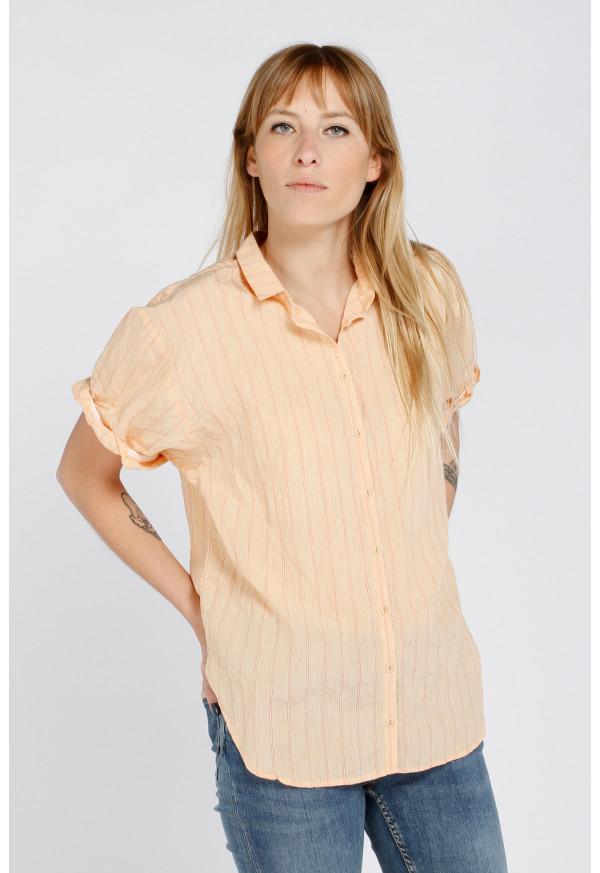 Shirt S21W326 Salmon
