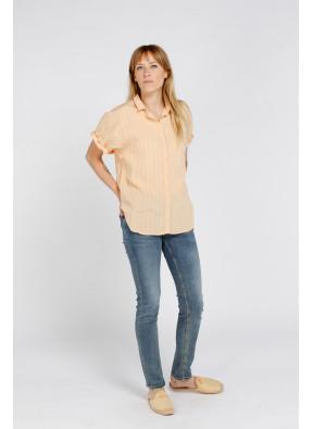 Camisa S21W326 Salmon