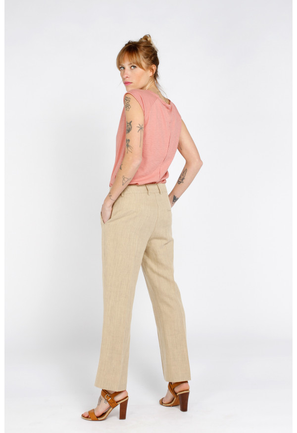 Pantalon Angelica Sable