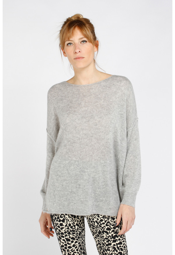 Pull Toqroad 18A Gris chiné