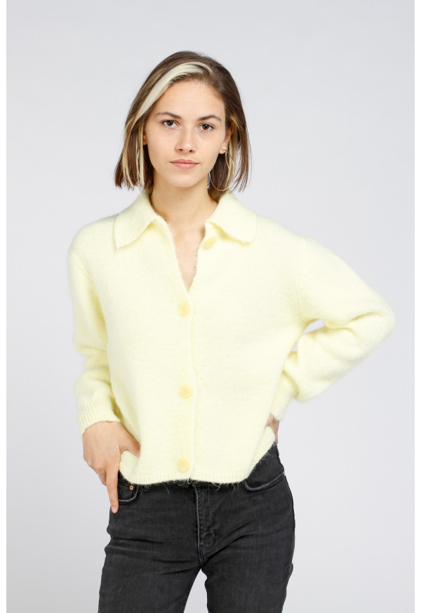 Cardigan 22057 Citron