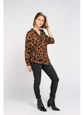 Shirt Camille Camel
