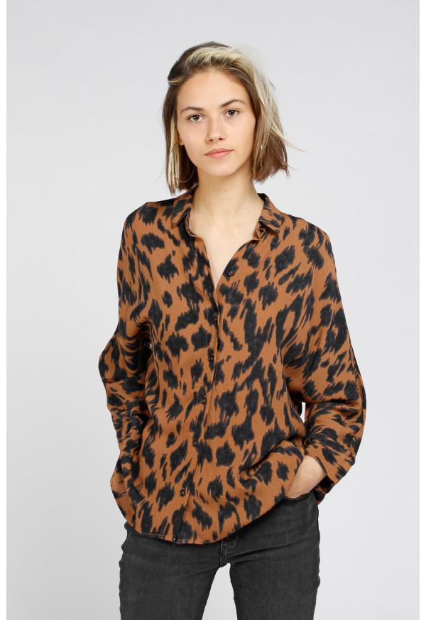 Camisa Camille Camel