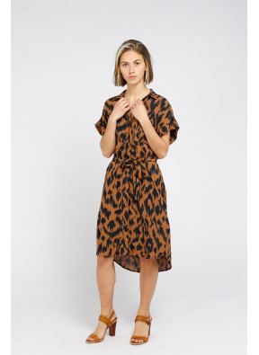 Dress Raquel Camel