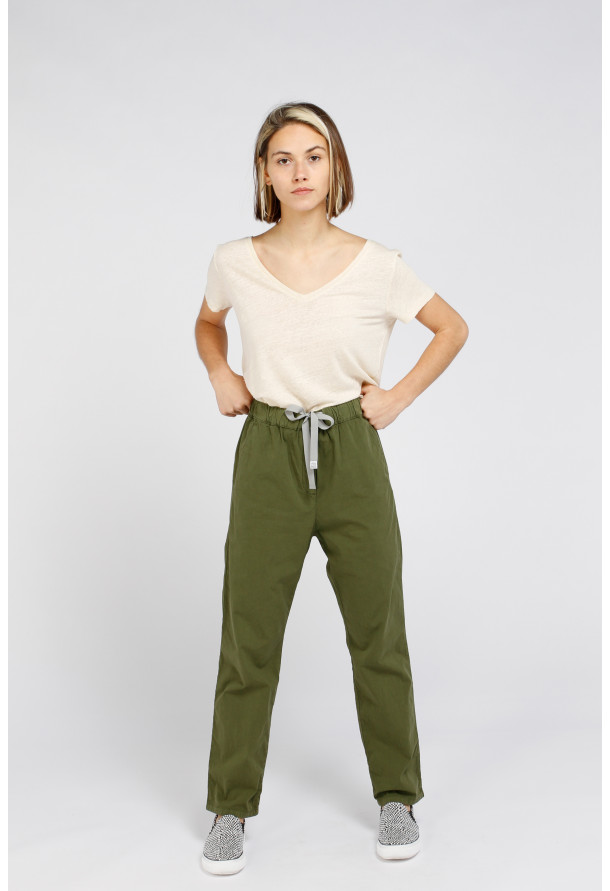 Trouser S21W317 Kaki