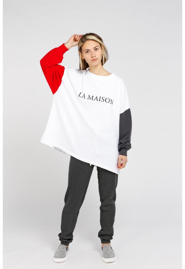 Camiseta Zeritown 02A Blanc