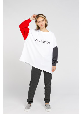 T-shirt Zeritown 02A Blanc