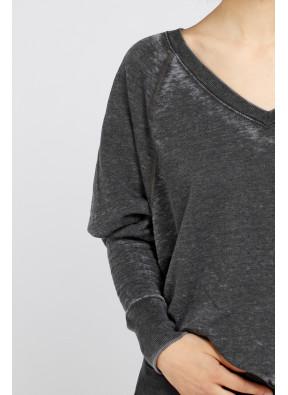 Sweatshirt 201304 Vintage Black