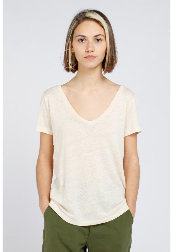 Camiseta Milan Ecru