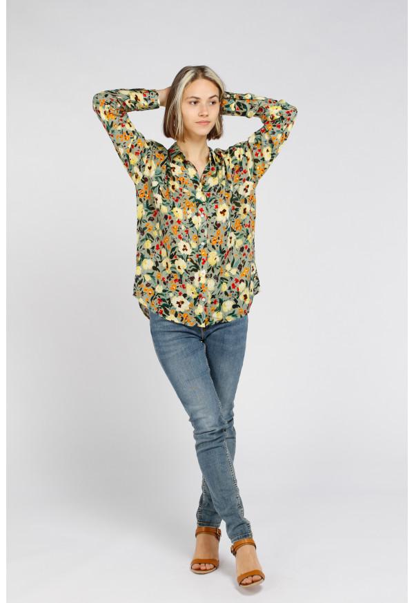 Camisa Brook Print Amande