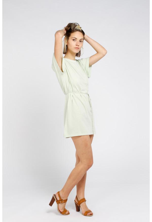 Dress Vegiflower 14C Vert Amande