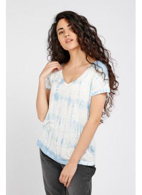 T-shirt Milan Blue Tie Dye
