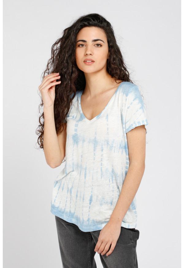 Camiseta Milan Blue Tie Dye