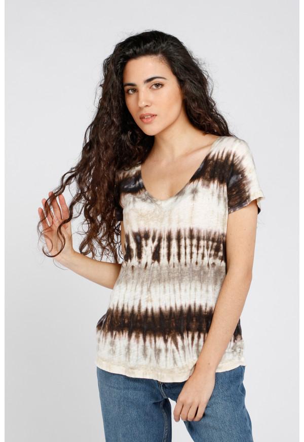 Camiseta Milan Mixte Tie Dye
