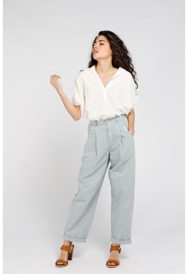 Trouser S21W323 Pigeon