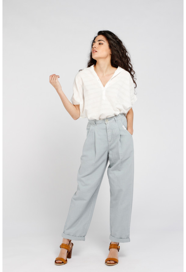 Trouser S21W323 Pigeon