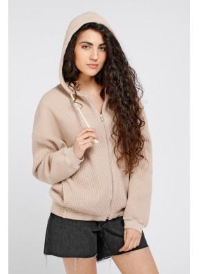 Sweatshirt Bowilove 03B Vieux Rose