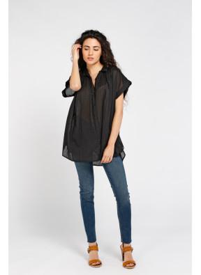 Shirt Emma Solid Black