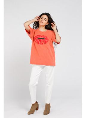 T-shirt Brook Belle Blood Orange