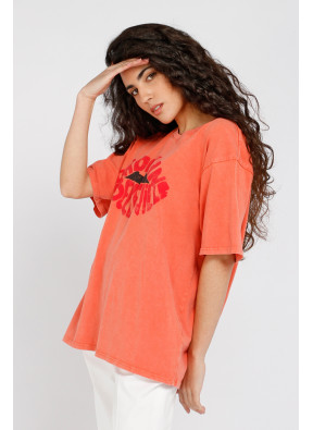 Camiseta Brook Belle Blood Orange