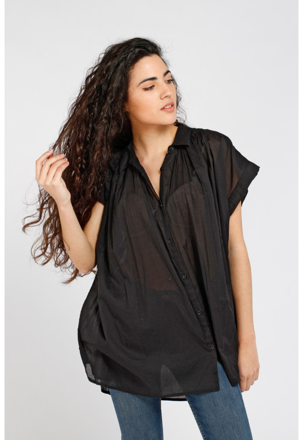 Camisa Emma Solid Black