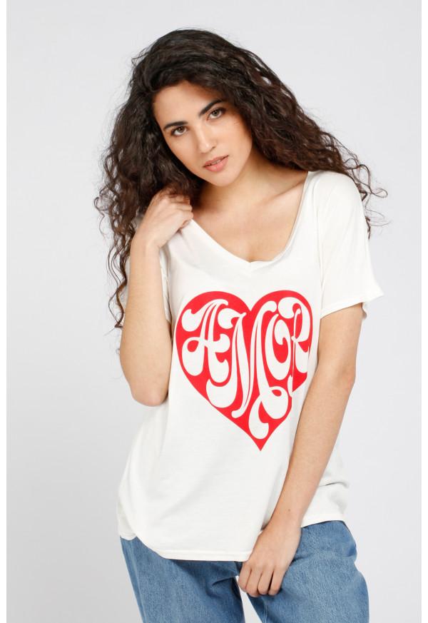 Camiseta Tommy Amor
