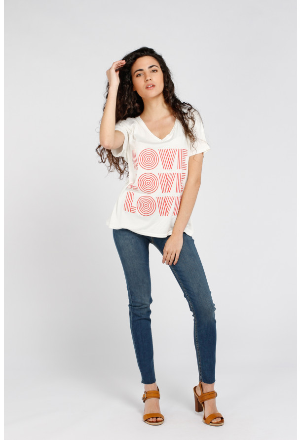 T-shirt Tommy Love