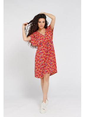 Dress Brigitte Courte Red