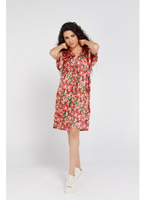 Dress Brigitte Courte Pink