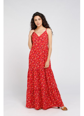 Dress Silvia Red