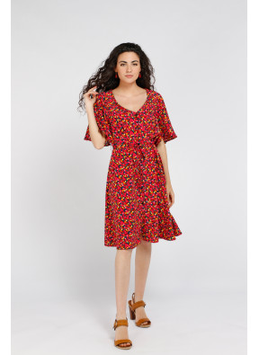 Dress Laura Red