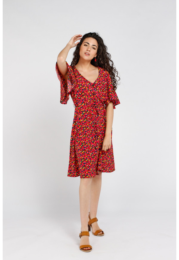 Robe Laura Red