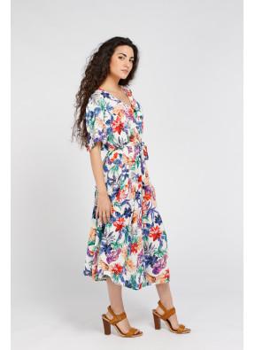 Dress Camelia White