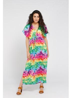 Dress Brigitte Longue Rainbow