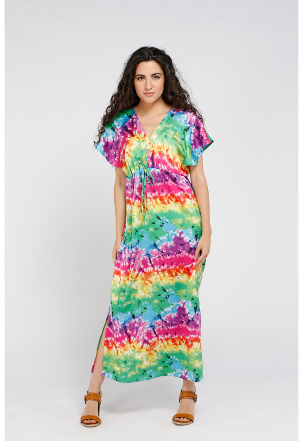 Robe Brigitte Longue Rainbow