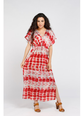 Vestido Brigitte Longue Red