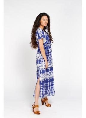 Dress Brigitte Longue Blue