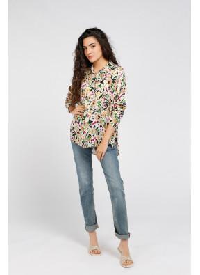 Shirt Brook Print Ecru