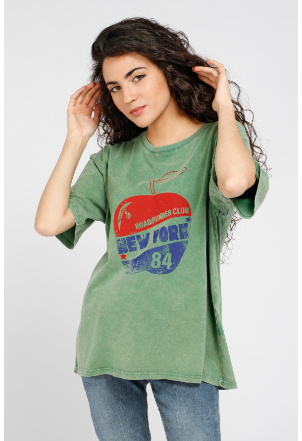 Camiseta Apple Green