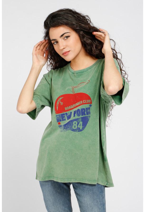T-Shirt Apple Green
