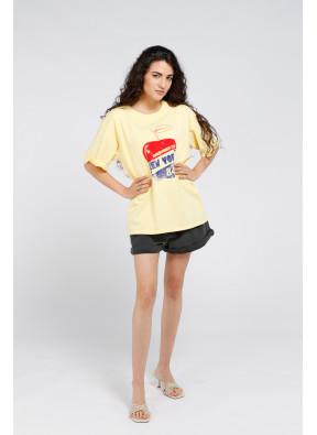 T-Shirt Apple Yellow